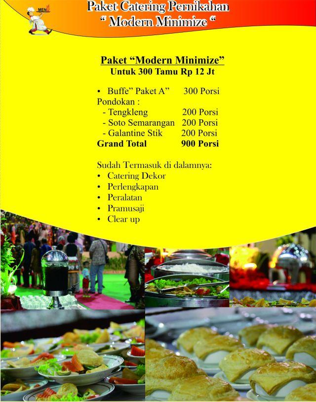 Catering Prasmanan Perniahan Semarang, Catering prasmanan Murah, Catering Prasmanan Eonomis, H. Supardan Assidqie