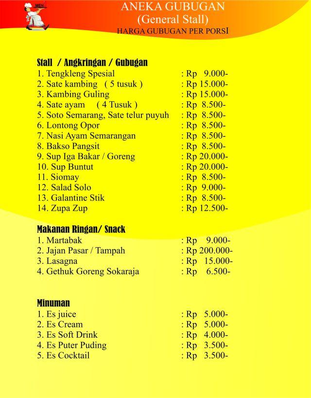 Catering Wedding Semarang, Catering Walimahan, Catering Semarang Bina Sakinah, H. Supardan Assidqie