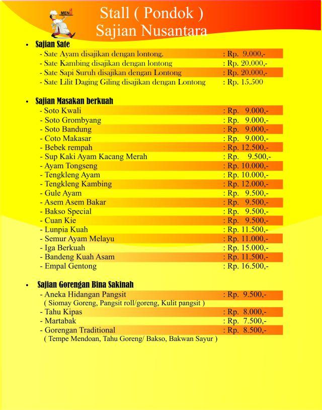 Catering Anggrek Semarang, Catering Sonoembang, Katering kang Bagong, 0888 641 4747, 085 64 223 7020