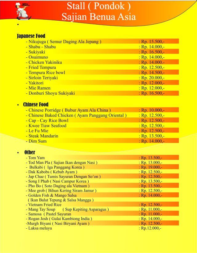 Catering Jasmine Semarang, Catering pangestu, Paket Pernikahan Intan,  Catering Semarang Bina Sakinah, H. Supardan Assidqie